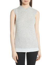 Brochu Walker | Iva Layered Sweater Tank | Lyst