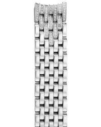 Michele - 'serein' 16mm Diamond Bracelet Watchband - Lyst