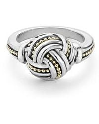 Lagos - Small Round Ring - Lyst