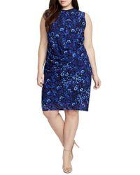 RACHEL Rachel Roy - Santorini Floral Sheath Dress - Lyst
