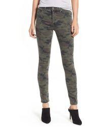 Hudson Jeans - Barbara High Waist Super Skinny Jeans - Lyst
