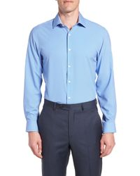 W.r.k. - Trim Fit 4-way Stretch Dress Shirt - Lyst