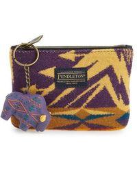 Pendleton - Zip Pouch - Purple - Lyst