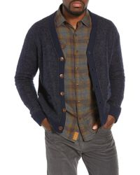Nifty Genius - Regular Fit Elbow Patch Cardigan - Lyst