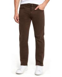 Mavi Jeans - Zach Straight Fit Twill Pants - Lyst