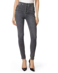J Brand - Natasha Sky High High Waist Super Skinny Jeans - Lyst