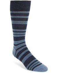 Cole Haan - Light House Stripe Socks - Lyst