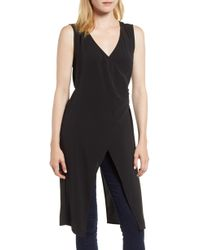 Kenneth Cole - Coat Tail Top - Lyst