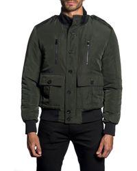9032c51aba4e2 Jared Lang Aspen Camo Down Puffer Vest in Black for Men - Lyst
