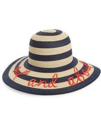 Kate Spade - Kate Spade Out And About Straw Hat - - Lyst