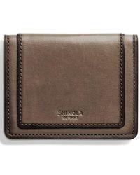 Shinola - Outlaw Folding Card Case - Lyst