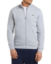 Lacoste - Fleece Zip Jacket - Lyst