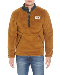 The North Face | Campshire Pullover Fleece Jacket | Lyst