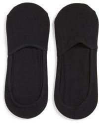 Calvin Klein - 2-pack No-show Socks, Black - Lyst