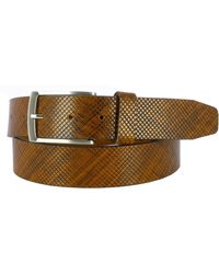 Remo Tulliani - Jerrell Embossed Leather Belt - Lyst