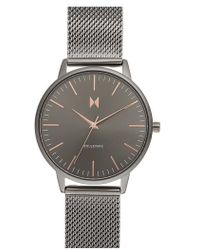 MVMT - Boulevard Mesh Strap Watch - Lyst
