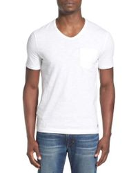 Original Penguin | 'bing' V-neck Pocket T-shirt | Lyst