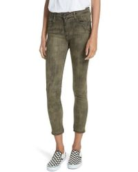 Brockenbow - Reina Camille Camouflage Skinny Jeans - Lyst