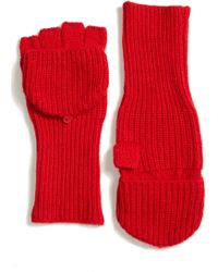 Eileen Fisher - Convertible Cashmere & Wool Glovelettes - Lyst