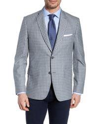 John W. Nordstrom - John W. Nordstrom Traditional Fit Plaid Wool Sport Coat - Lyst