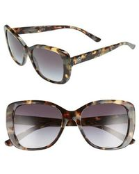 Tory Burch - 53mm Gradient Rectangle Sunglasses - - Lyst