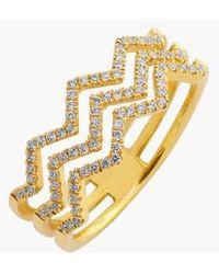 Bony Levy | 'prism' 3-row Diamond Ring (limited Edition) (nordstrom Exclusive) | Lyst