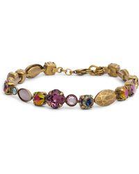 Sorrelli - Metal & Crystal Line Bracelet - Lyst