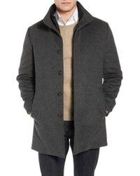 John W. Nordstrom - John W. Nordstrom Hudson Wool Car Coat - Lyst