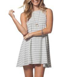 Rip Curl - Classic Surf Stripe Dress - Lyst