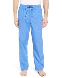 Polo Ralph Lauren - Dot Cotton Pajama Pants - Lyst