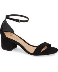 Schutz - Chimes Suede Ankle-strap Sandals - Lyst