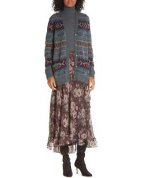 Polo Ralph Lauren - Alina Midi Silk Wrap Skirt - Lyst