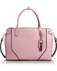 Tumi - Stanton Kiran Leather Laptop Briefcase - Lyst