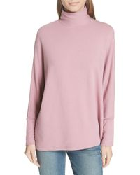 Majestic Filatures - French Terry Relaxed Turtleneck - Lyst