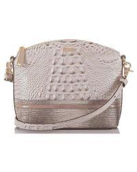 Brahmin - Mini Duxbury Leather Crossbody Bag - Lyst