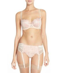 B.tempt'd | 'b.sultry' Lace Front Thong | Lyst