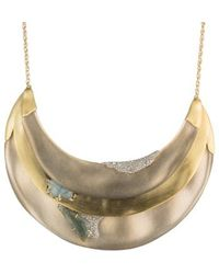 Alexis Bittar - Roxbury Layered Bib Necklace - Lyst