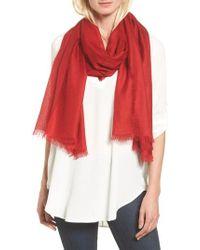 Nordstrom - Cashmere & Silk Wrap - Lyst