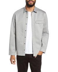 Calibrate - Snap Shirt Jacket - Lyst