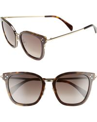 f6f8d12958 Lyst - Gucci 62mm Open Temple Special Fit Rimless Sunglasses - Light ...