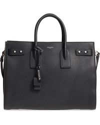 Saint Laurent - Medium Sac De Jour Grained Leather Tote - Lyst