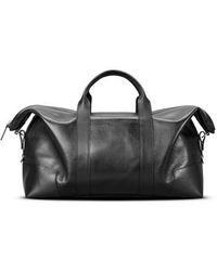 Shinola - Signature Leather Duffel Bag - Lyst