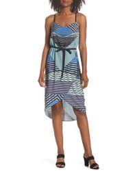 Felicity & Coco - Heidi Geo Print Dress - Lyst