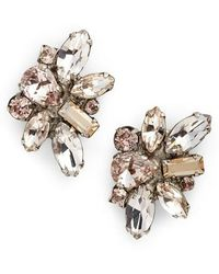 Sorrelli - Muscari Crystal Earrings - Lyst