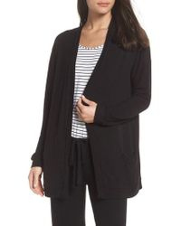 Eberjey - Elon The Relaxed Cardigan - Lyst