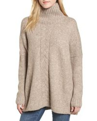 French Connection | Ora Mock Neck Sweater | Lyst