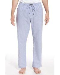 Polo Ralph Lauren - Seersucker Pajama Pants - Lyst