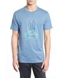 Psycho Bunny - Graphic T-shirt - Lyst