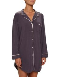 Eberjey - Gisele Stretch Jersey Sleep Shirt - Lyst