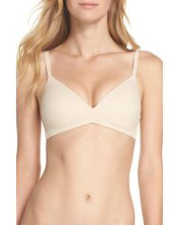 Wacoal - How Perfect Wireless Contour Bra - Lyst